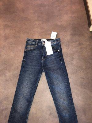 High waist skinny Jeans von Zara