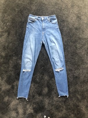 High Waist Skinny Jeans Zara, Ripped Jeans