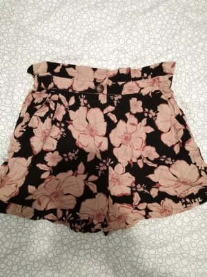 High waist Sommer shorts Stoffshorts Blumen vintage