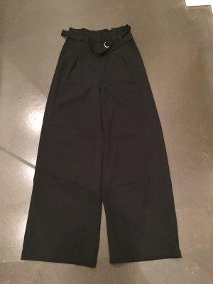 NA-KD Hoge taille broek zwart