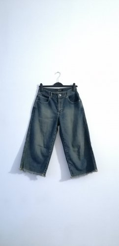 Blend 7/8 Length Jeans slate-gray-dark blue cotton