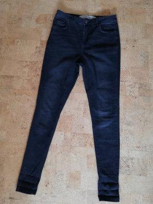 Denim Co. Jeans a vita alta nero-grigio scuro
