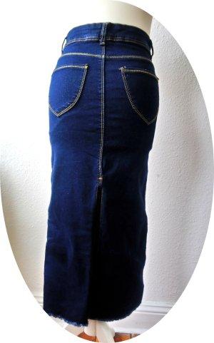 Denim Skirt multicolored