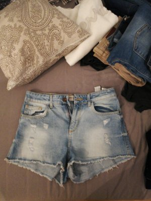 High waisted Jeansshorts