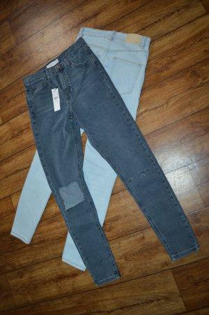 High Waisted Skinny Jeans 38 Topshop Neu