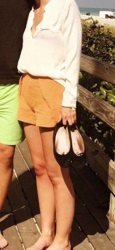 High-waisted Zara Shorts