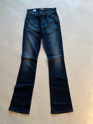 High warst Jeans von mother mit leichtem Schlag