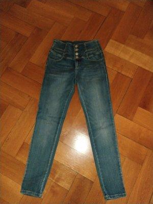 Tally Weijl High Waist Jeans cornflower blue