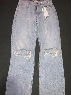Gina Tricot High Waist Jeans blue