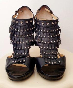 Jimmy Choo High Heels black leather