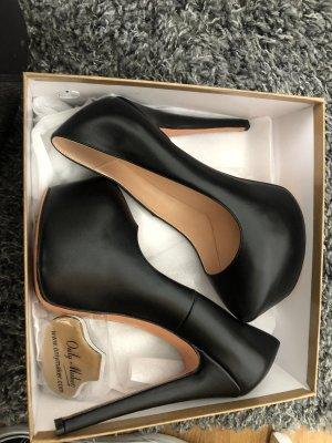 only maker Chaussure à talons carrés noir
