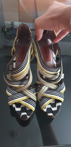Missoni Strapped High-Heeled Sandals multicolored