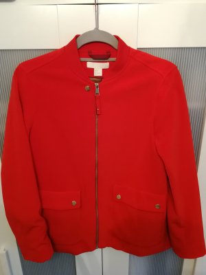 H&M Chaqueta bomber rojo