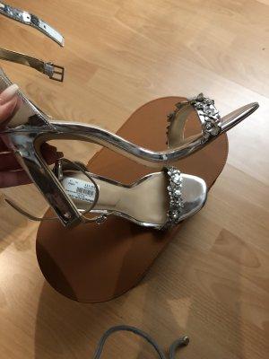 Aldo High Heels silver-colored