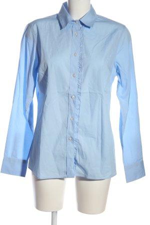 Highmoore Langarmhemd blau Business-Look