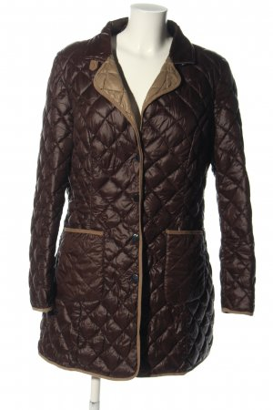 Highmoore Quilted Coat brown-nude quilting pattern casual look