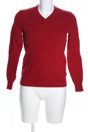 Highmoore Wollpullover rot Casual-Look