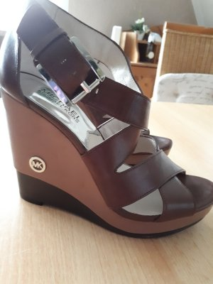 Michael Kors High Heels brown-black brown