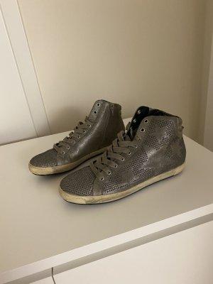 Kennel und Schmenger Sneaker alta grigio-verde Pelle