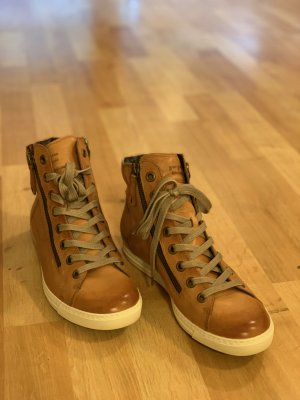 Paul Green High top sneaker veelkleurig Leer