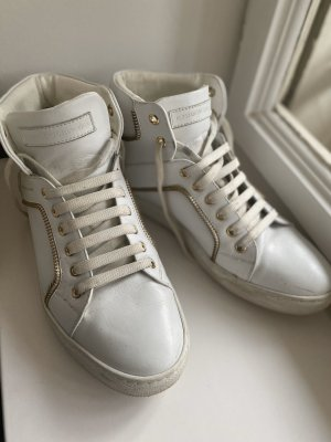 Hightops Alessandro dell'Acqua white sneakers
