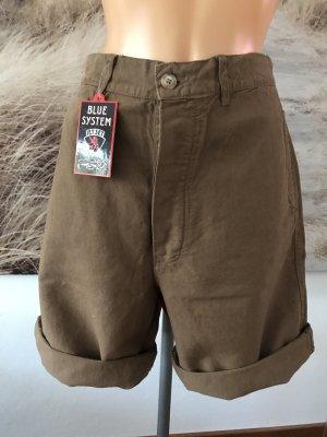 Highwaist-Bermudashorts * lässige Baggy-Shorts * Größe 30 * 40/42