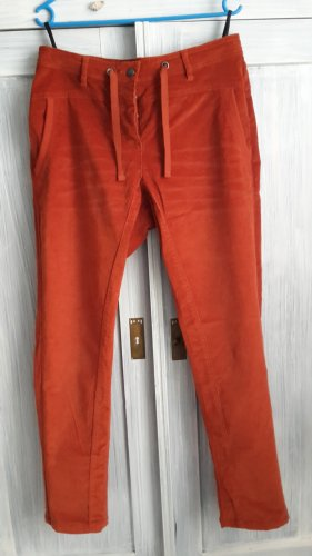 b.p.c. Bonprix Collection Pantalon en velours côtelé rouille