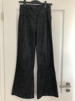Vero Moda Jeans large bleu foncé