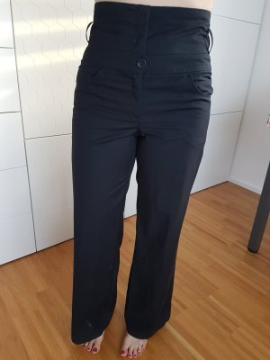 Review High Waist Trousers black