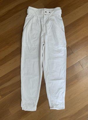 Isabel Marant High Waist Trousers white