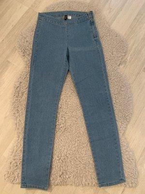 H&M Jeansy z wysokim stanem niebieski