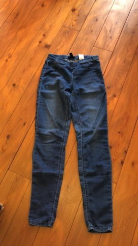 H&M Divided Hoge taille jeans blauw-donkerblauw