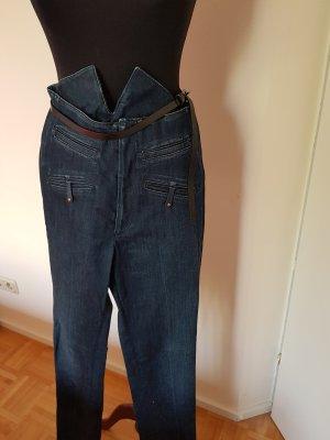 Twenty8twelve Jeans taille haute bleu foncé