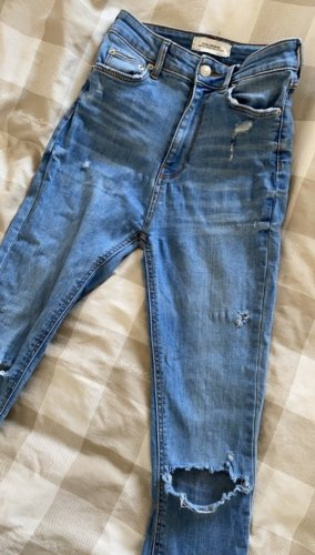 Highwaist Jeans, gr. 34, ZARA