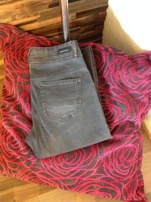 s.Oliver Jeans taille haute gris foncé-gris