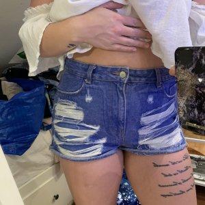 Highwaist Jeans Shorts Denim Gr.42