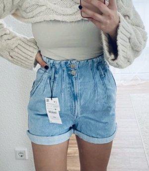 Highwaist Jeans Shorts Zara Gr.32/XS