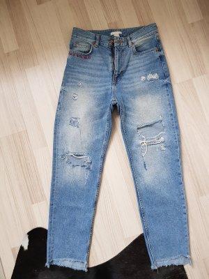 Highwaist Jeans von H&M
