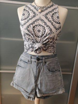 highwaist jeansshort