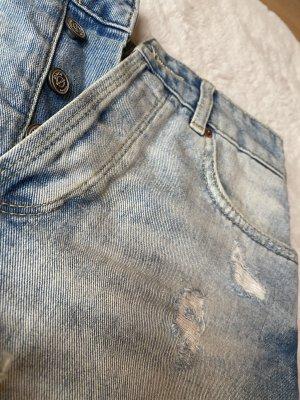 Highwaist Jeansshorts