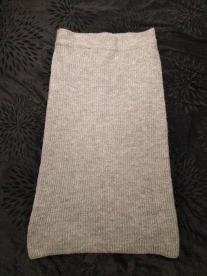 Primark Jupe taille haute gris clair