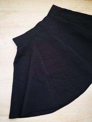 H&M Divided Spódnica z falbanami czarny