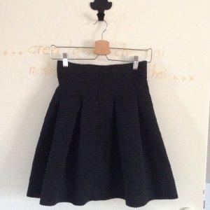 H&M Skaterska spódnica czarny Poliester