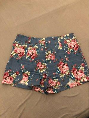 Highwaist Shorts Blumenmuster