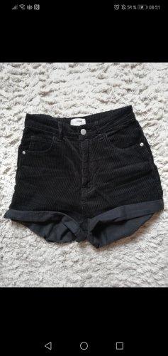 highwaist shorts in cordoptik gr. 34 tally weijl
