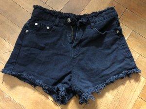 Highwaist Shorts schwarz XS/34