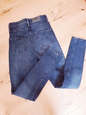 Tommy Hilfiger Hoge taille jeans blauw