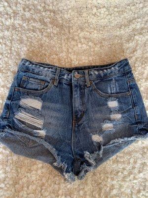 Highwaisted Jeans-Shorts Tally Weijl