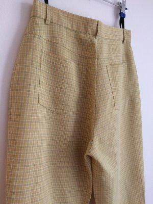 unknown Pantalón de cintura alta multicolor tejido mezclado