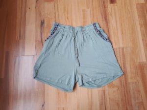 Highwaisted Shorts mit Kordelzug